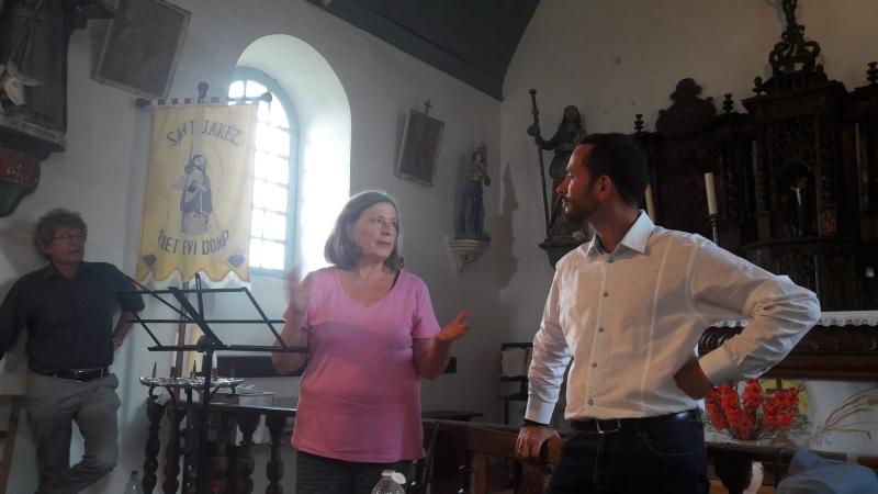 Dominique Besançon avec Gaultier Roux