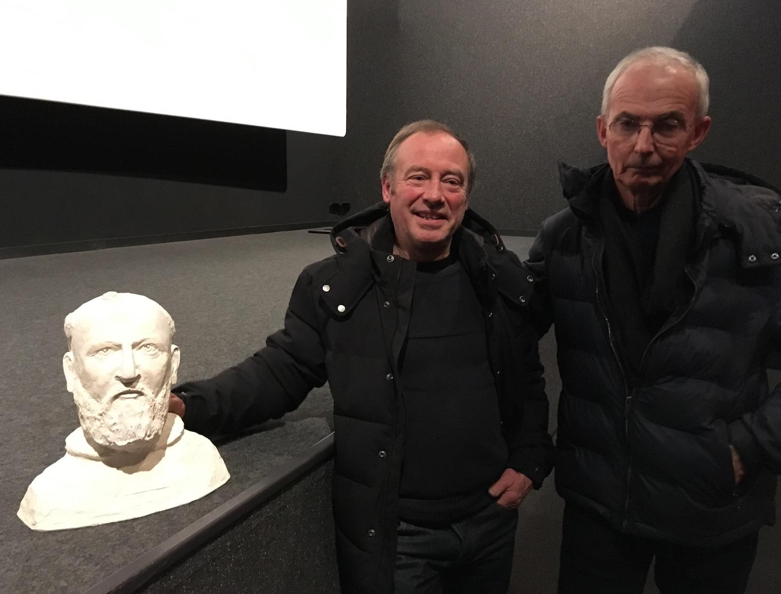 Charly Sallé et Serge Le Quéau